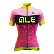 Alé PRR Women's Bubbles Short Sleeve Jersey - Pink/Purple