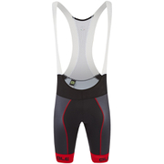 Alé PRR Bermuda Bib Shorts - Black/Red