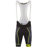 Alé PRR Mithos Bib Shorts - Black/Yellow