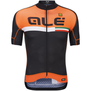 Alé PRR Circuito Short Sleeve Jersey - Black/Orange