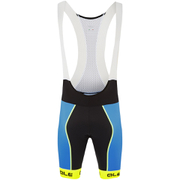 Alé PRR Bermuda Bib Shorts - Blue/Yellow