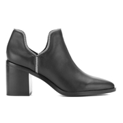 Senso Women's Huntley I Heeled Leather Ankle Boots - Ebony