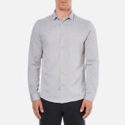 Selected Homme Men's Donekobe Long Sleeve Shirt - Glacier Gray