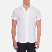Selected Homme Men's Short Sleeve Shirt - Bright White