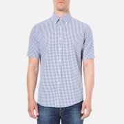 Polo Ralph Lauren Men's Gingham Short Sleeve Shirt - Rugby Royal