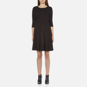 BOSS Orange Women's Dipleat Jersey Dress - Black