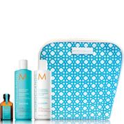 Moroccanoil Smooth Shampoo, Conditioner and Treatment Trio Bag (Worth £52.15)