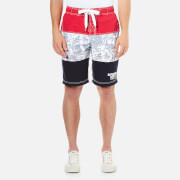 Superdry Men's Northshore Boardshort Swim Shorts - Red