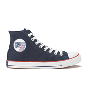 Superdry Men's Retro Sport High Top Trainers - Dark Navy