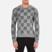 AMI Men's Crew Neck Sweatshirt - Grey