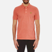 Lyle & Scott Vintage Men's Polo Shirt - Terracotta Marl