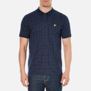 Lyle & Scott Vintage Men's Square Dot Polo Shirt - Navy