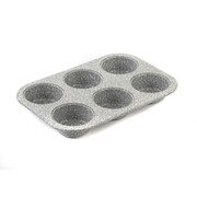 Salter Marble Collection 6 Cup Muffin Tray