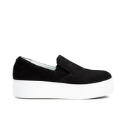 KENZO Women's K-Py Platform Slip-On Trainers - Black