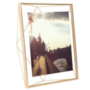 "Umbra Prisma Photo Frame - Matt Brass - 8"" x 10"" (20.3 x 25.4cm)"