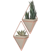 Umbra Trigg Wall Vessel - Copper (Set of 2)