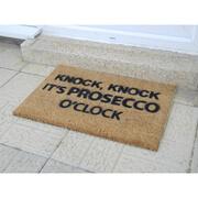Prosecco O'Clock Doormat
