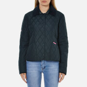 Superdry Women's Diamond Quilted Jacket - Super Dark Navy