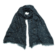 Maison Scotch Women's Drapy Scarf In All Over Print - Multi