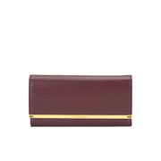 Ted Baker Women's Anneth Matinee Metal T Bar Purse - Oxblood