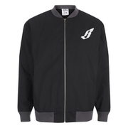 Billionaire Boys Club Men's Team Varsity Jacket - Black/Grey