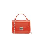 Furla Women's Candy Sugar Mini Crossbody Bag - Orange