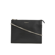 Furla Women's Bolero XL Crossbody Pouch Bag - Black
