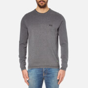 BOSS Green Men's Rime Crew Neck Jumper - Grey