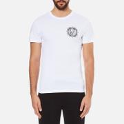 Versace Jeans Men's V Logo Print T-Shirt - White