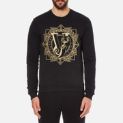 Versace Jeans Men's Light Sweatshirt - Black