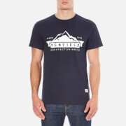 Penfield Men's Mountain Logo T-Shirt - Navy