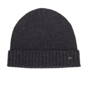 BOSS Green C-Fati 2 Beanie - Charcoal