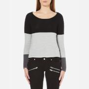 ONLY Women's Oakey Long Sleeve Jumper - Black