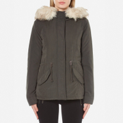 ONLY Women's Lucca Short Parka - Peat