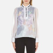 Carven Women's Floral Lining Shirt - Multi