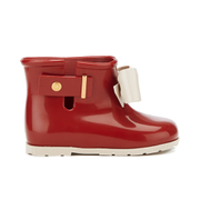Mini Melissa Toddlers' Sugar Rainbow Boots - Red Contrast