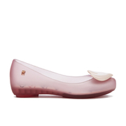 Mini Melissa Kids' Alice Ultragirl Ballet Flats - Blush Heart
