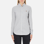 Polo Ralph Lauren Women's Heidi Long Sleeve Shirt - Andover Heather