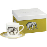 Harlequin Savanna Espresso Cup and Saucer Gift Box (Set of 4)