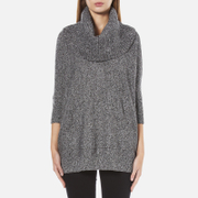 MICHAEL MICHAEL KORS Women's Cowl Neck Poncho - Grey