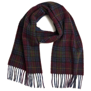 Polo Ralph Lauren Men's Reversible Scarf - Wine/Blue