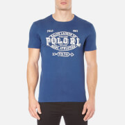 Polo Ralph Lauren Men's Short Sleeve Crew Neck Printed T-Shirt - Club Royal