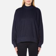 Samsoe & Samsoe Women's Volund T Neck Sweatshirt - Dark Sapphire