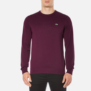Lacoste Men's Crew Neck Jumper - Vendange