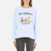 Wildfox Women's Diet Dropout Kims Sweatshirt - Blue Tears