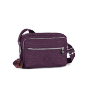 Kipling Women's Deena Medium Cross Body Bag - Plum Purple