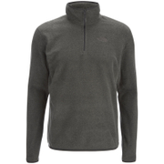 The North Face Men's 100 Glacier 1/4 Zip Fleece - Fusebox Grey