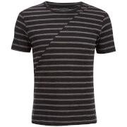 Produkt Men's Deko Asymetric Stripe T-Shirt - Black