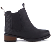 Barbour Women's Latimer Leather Chelsea Boots - Black