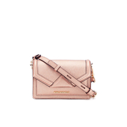 Karl Lagerfeld Women's K/Klassik Super Mini Cross Body Bag - Metallic Rose